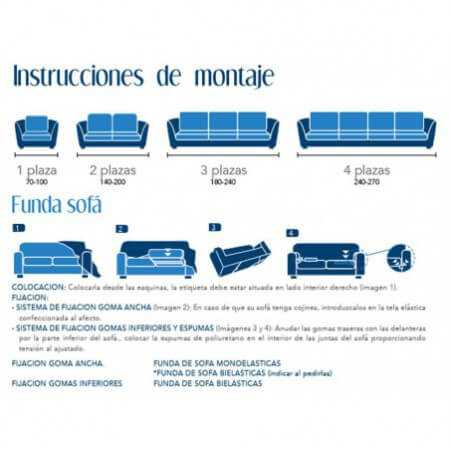 Funda sofá PETRA de Cañete