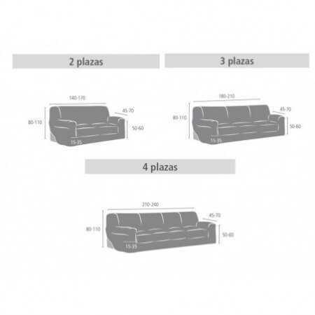 Funda sofá ARGOS de Eysa