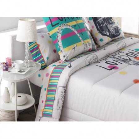 Juego de sábanas LONDON cama 180 de Tejidos JVR