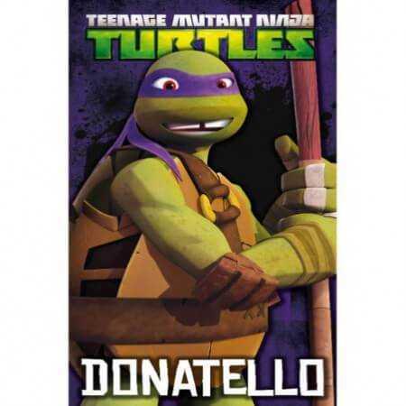 w_Toalla de playa Donatello de las Tortugas Ninja