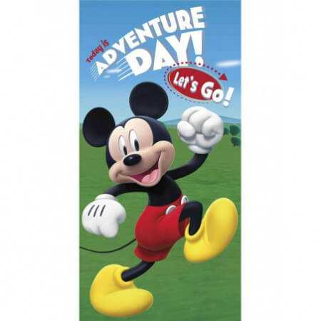 Toalla de playa MICKEY ADVENTURE 70X140 cm de EDEN