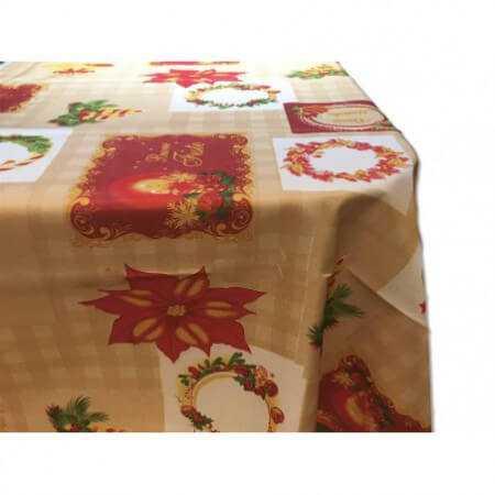Mantel Antimanchas Navidad 11121 de BH Textil