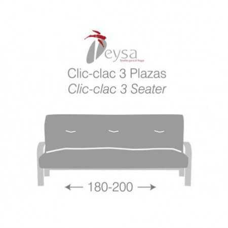 Funda sofá Clic Clac CORA de Eysa