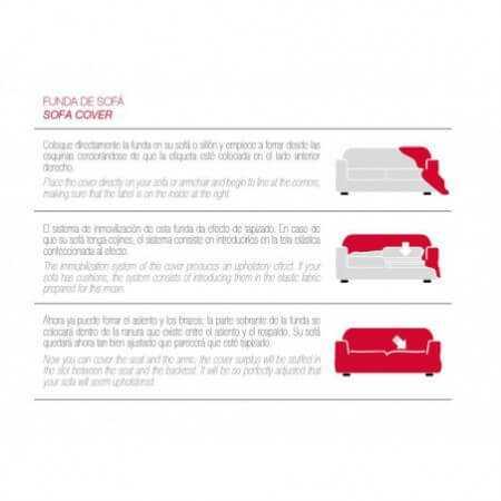 Funda Sofá Clic Clac TEIDE de Belmarti