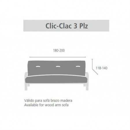 Funda sofá Clic Clac IRIA de Eysa