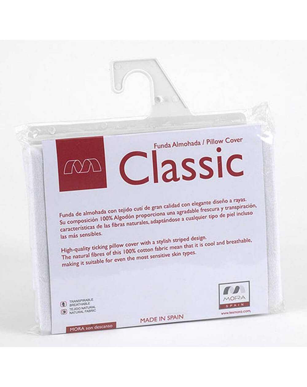 Funda de almohada CLASSIC 001 de Mora