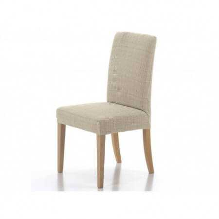 Funda silla con respaldo Pack de 2 LUGANO de Cañete