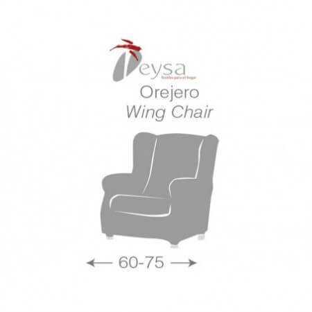 Funda sillón 1 plaza orejero DAM de Eysa