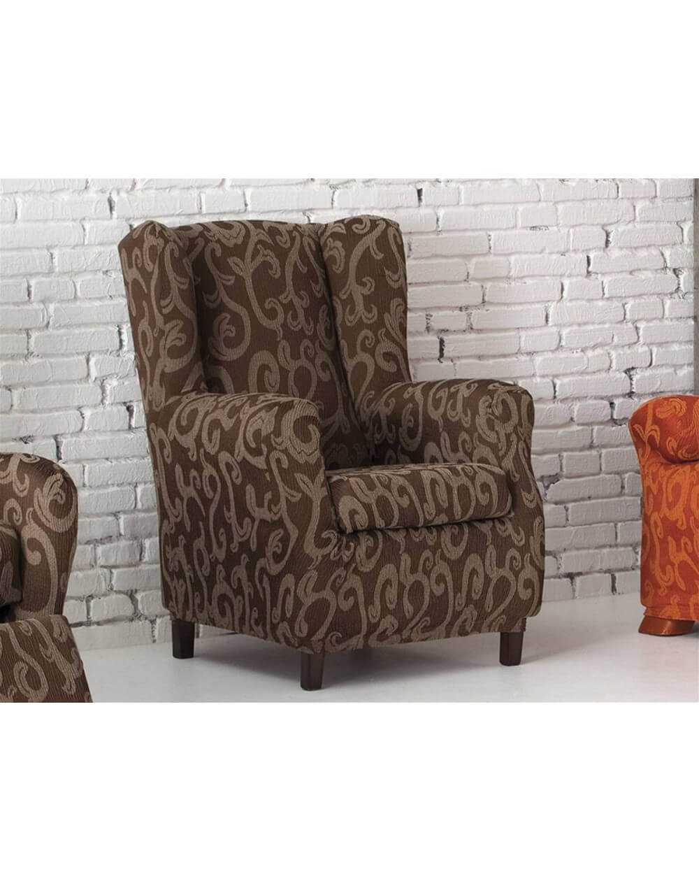Funda sillón 1 plaza orejero OVER de Eysa