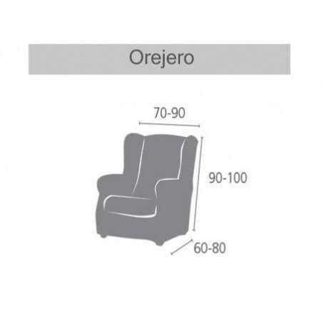 Funda sillón Orejero IRIA de Eysa