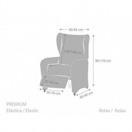 Funda sillón Relax ROC de Eysa