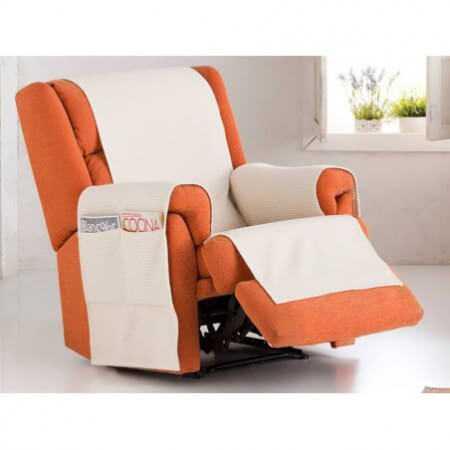 Funda sillón 1 plaza Práctica BIANCA de Eysa