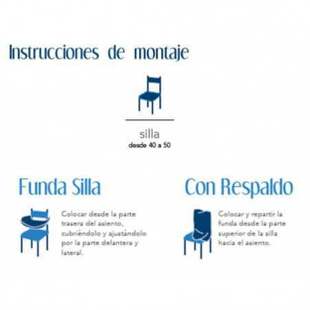 Funda silla BACO de Cañete