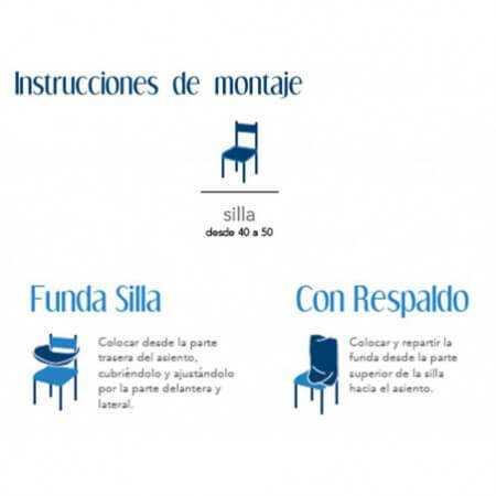 Funda silla PETRA de Cañete