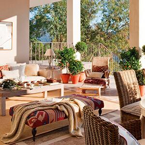 decora tu casa con textiles frescos para el verano