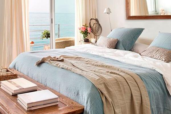 ropa de cama de algodón fresca para el verano