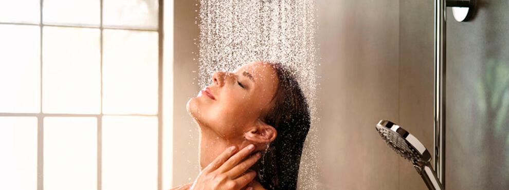 La ducha: ¿por la mañana o por la noche?