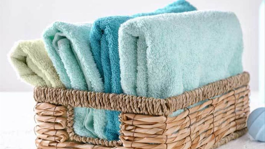 doblado vertical de toallas metodo Konmari