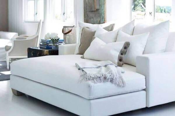 Decoración en Blanco, consigue un espacio limpio, acogedor y sosegado